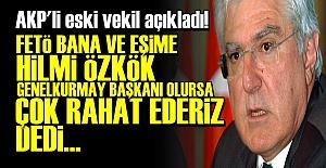AKP'Lİ ESKİ VEKİLDEN OLAY AÇIKLAMA!