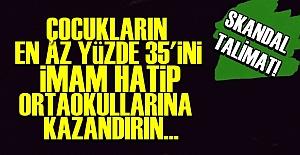 CİHAD MERKEZLİ EĞİTİMDE ŞOK TALİMAT!