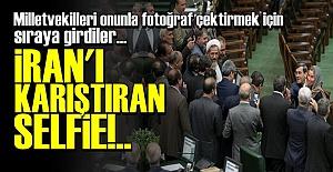 İRAN'I KARIŞTIRAN SELFİE!
