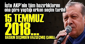 İŞTE AKP'NİN 2018 PLANLARI!