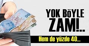 ZAM VE VERGİ YAĞMURU!..