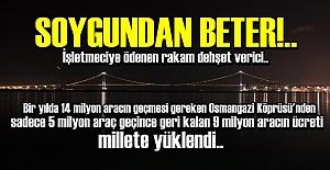 DELİ DUMRUL KÖPRÜSÜ'NÜ DE SOLLADI!..