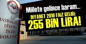 DİYANET FAİZDEN KAZANIYOR!..
