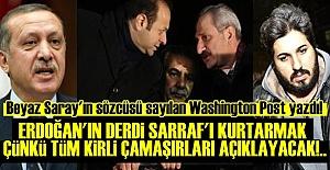 'ERDOĞAN SARRAF'IN KONUŞMASINI İSTEMİYOR...'