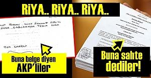 BİR AKP RİYASI DAHA!..