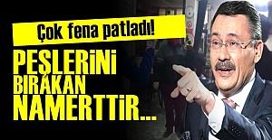 GÖKÇEK FENA PATLADI!..