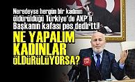 CHP'Lİ KADIN ÜYEYİ KONUŞTURMADI!