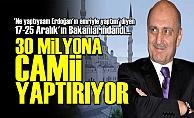 BAYRAKTAR'DAN 'VIP CAMİİ'..