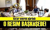 GÖRÜŞMEDE DİKKAT ÇEKEN DETAY!..
