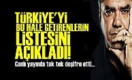 ÖZDİL O LİSTEYİ TEK TEK AÇIKLADI!..