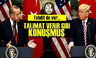 TRUMP TEHDİT ETMİŞ!..