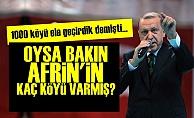 AFRİN'İN KÖY SAYISI BELLİ OLDU!