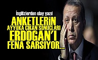 FT: ANKET SONUÇLARI ERDOĞAN'I FENA SARSIYOR...