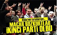 MACARİSTAN'DA 'BOZKURTLAR' İKTİDARA YÜRÜYOR!