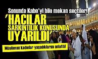 SONUNDA KABE'Yİ DE MEKAN SEÇTİLER!