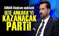 ANKARA'YI KAZANACAK PARTİYİ AÇIKLADI!
