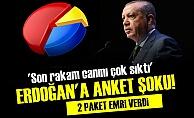 ERDOĞAN'A BİR ANKET ŞOKU DAHA!