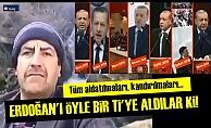 ERDOĞAN'I ÖYLE BİR Tİ'YE ALDILAR Kİ...