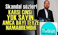 'KARŞI CİNSLE DİYALOG ZİNADIR'