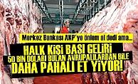 MERKEZ BANKASI'NDAN AKP'YE 'ET' UYARISI!