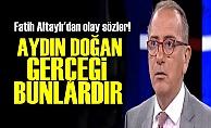 RESMEN AYDIN DOĞAN'IN İPLİĞİNİ PAZARA ÇIKARDI!