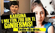 TOSUNDAN KARISINA SERVET!