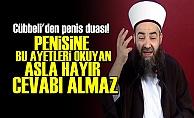 CÜBBELİ'DEN PENİS DUASI!