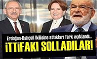 MUHALEFET 'CUMHUR İTTİFAKI'NI SOLLADI!