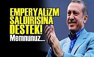 SURİYE'Yİ BOMBALAMAYA ALKIŞ!..