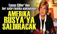TANSU ÇİLLER'DEN BOMBA AÇIKLAMALAR!
