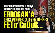 AKP'Lİ ADAY ERDOĞAN KARŞITI HERKESİ FETÖ'CÜ İLAN ETTİ!
