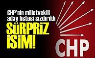 CHP'NiN LİSTESİNDE SÜRPRİZ İSİM!