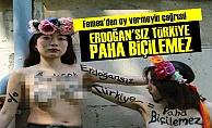 FEMEN'DEN 'OY VERMEYİN' ÇAĞRISI!