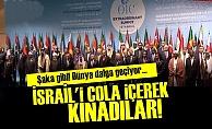 İSRAİL'İ 'COCA COLA' İÇEREK KINADILAR!