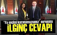 'KAZANAMAZSANIZ' SORUSUNA İLGİNÇ CEVAP!