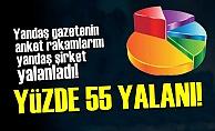 MİLLETE 'YÜZDE 55' YALANI!..