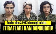 3 PKK'LIDAN KAN DONDURAN İTİRAFLAR!