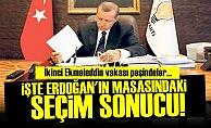 ERDOĞAN'IN MASASINDAKİ SONUCU AÇIKLADI!