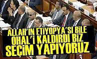ETİYOPYA BİLE OHAL'İ KALDIRDI!