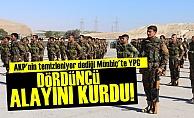 Terör Örgütü YPG 4. Alayını Kurdu!