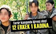 12 PKK'lı Bir Kadınla Cinsel İlişkiye Girdi!