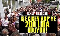 İşkur'da İşe Girenler AKP'ye Para Ödemek Zorunda!
