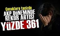 AKP Döneminde Taciz Rekoru!