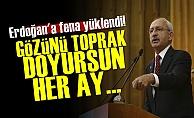'Gözünü Toprak Doyursun Erdoğan...'