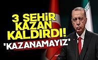AKP'de 3 Şehir Kazan Kaldırdı!