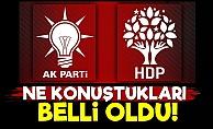 AKP-HDP'nin Ne Konuştuğu Belli Oldu!