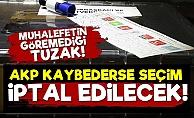'AKP Kaybederse Seçim İptal Edilecek'