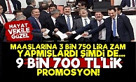 Milletvekillerine 9 Bin 700 Lira Promosyon!