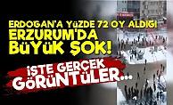 Erdoğan'a Erzurum'da Büyük Şok!
