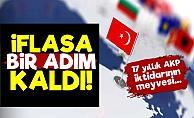 Türkiye'nin İflasına Bir Adım Kaldı!